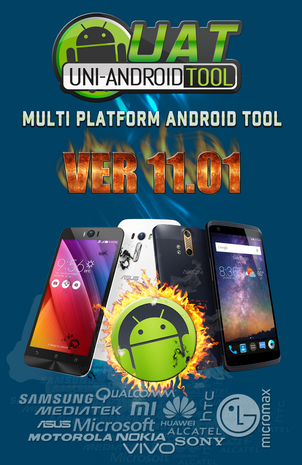 Uni-Android Tool [UAT] Version 11.01 Released [14/12/2017]