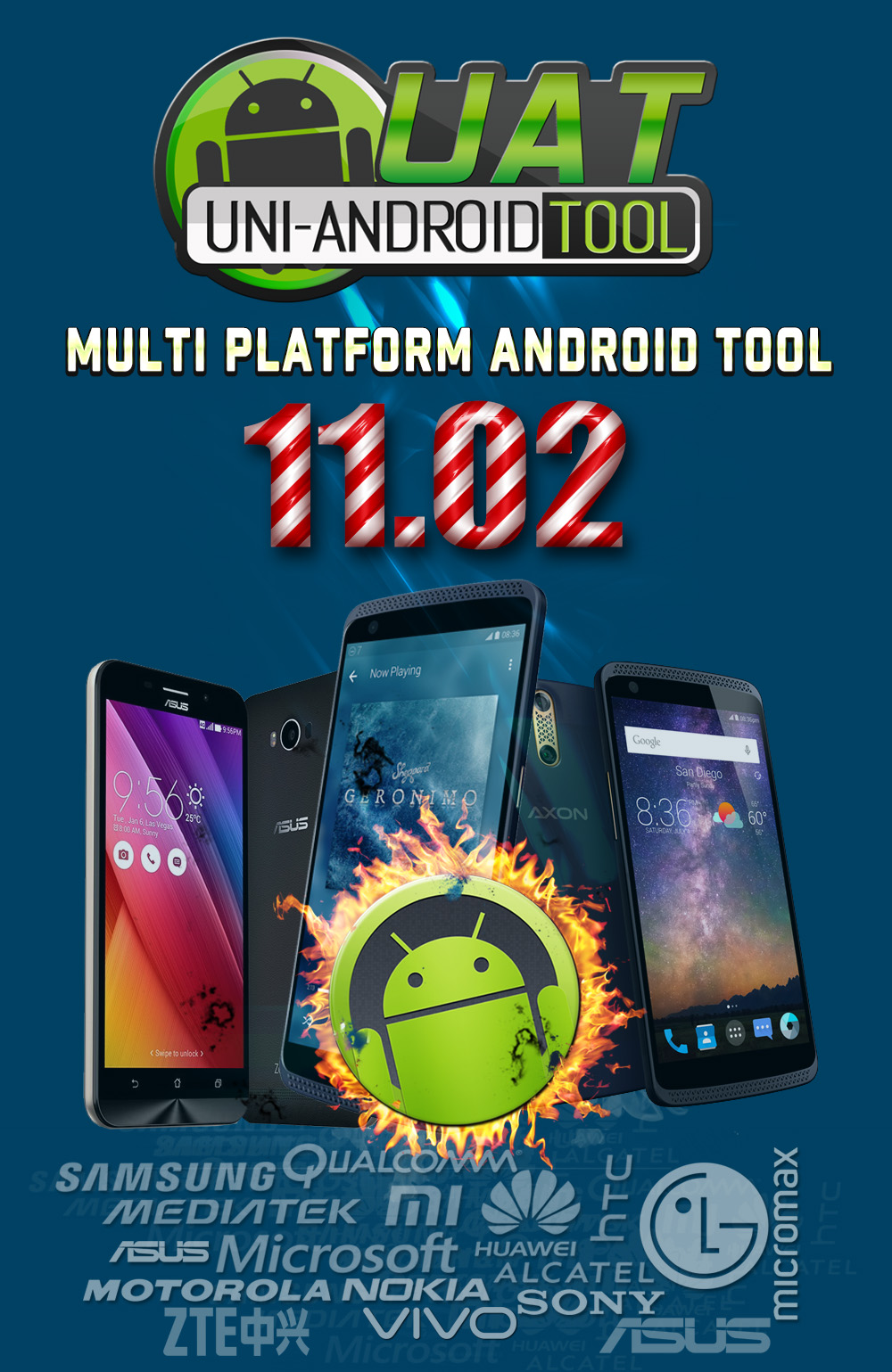 Uni-Android Tool [UAT] Version 11.02 Released [27/12/2017]