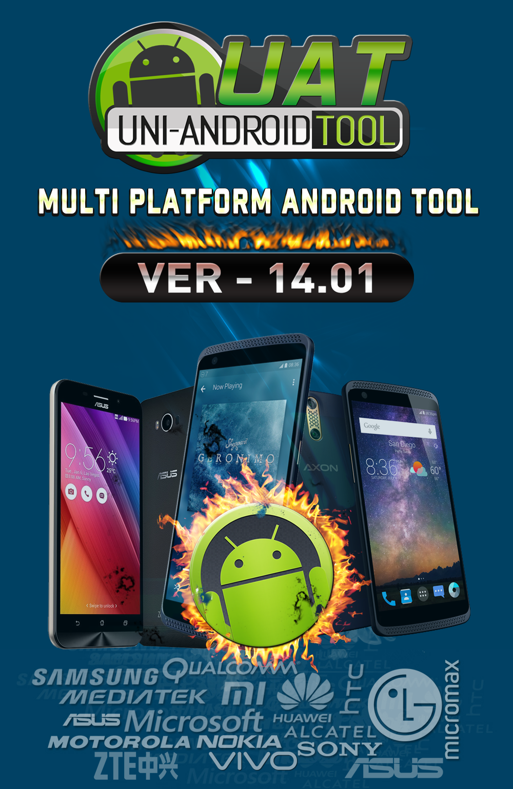 Uni-Android Tool [UAT] Version 14.01 Released [25/1/2018]