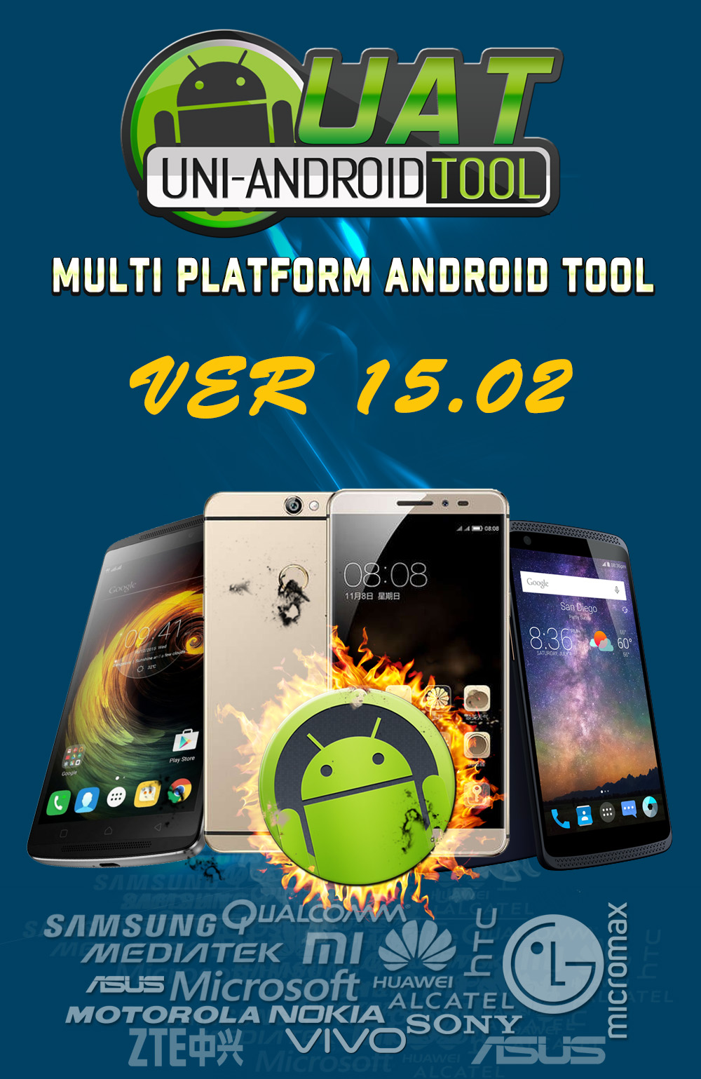 Uni-Android Tool [UAT] Version 15.02 Released [22/3/2018]