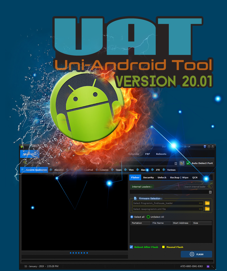 Uni-Android Tool [UAT] Version 20.01 Released [12/01/2019]