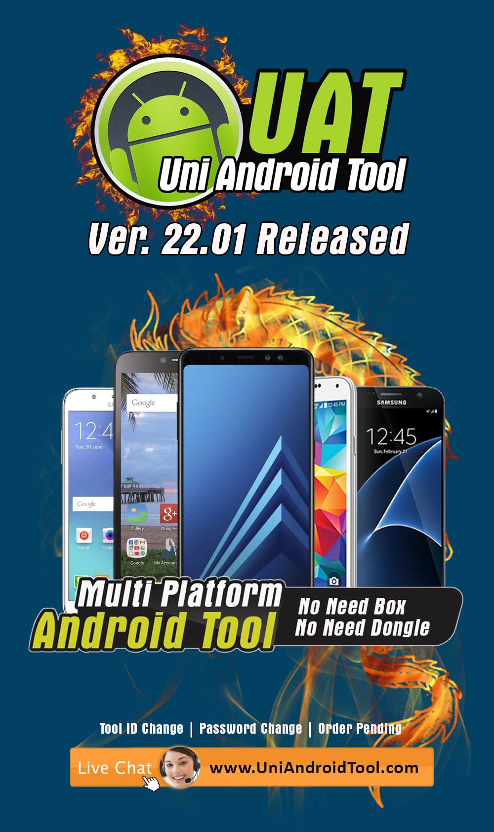 Uni-Android Tool [UAT] Version 22.01 Released - 17th April 2019